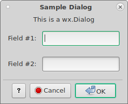 wx Dialog — wxPython Phoenix 4 1 0a1 documentation
