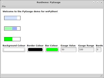 wx lib agw pygauge PyGauge — wxPython Phoenix 4 1 0a1